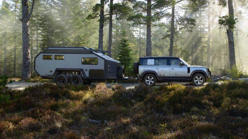 Bruder EXP6 GT, una caravana para todos los terrenos