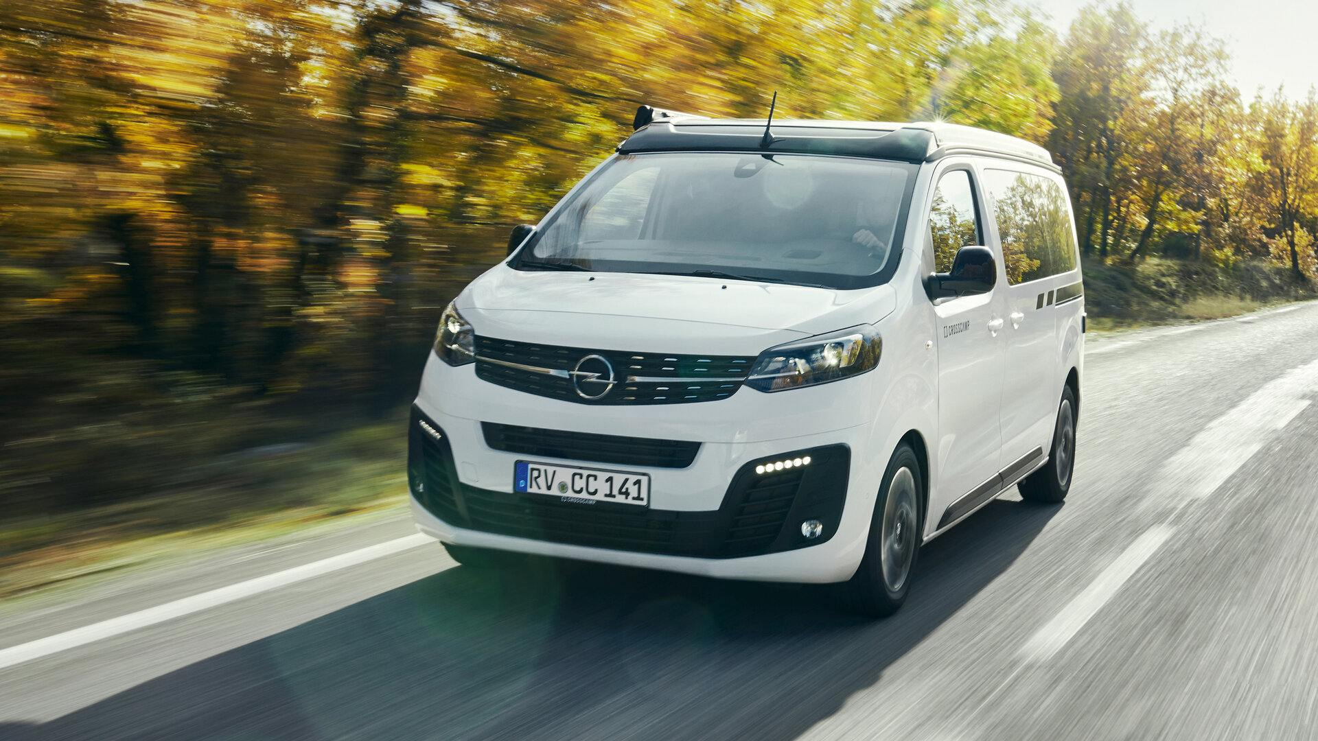 Crosscamp prepara el Opel Zafira Life como camper