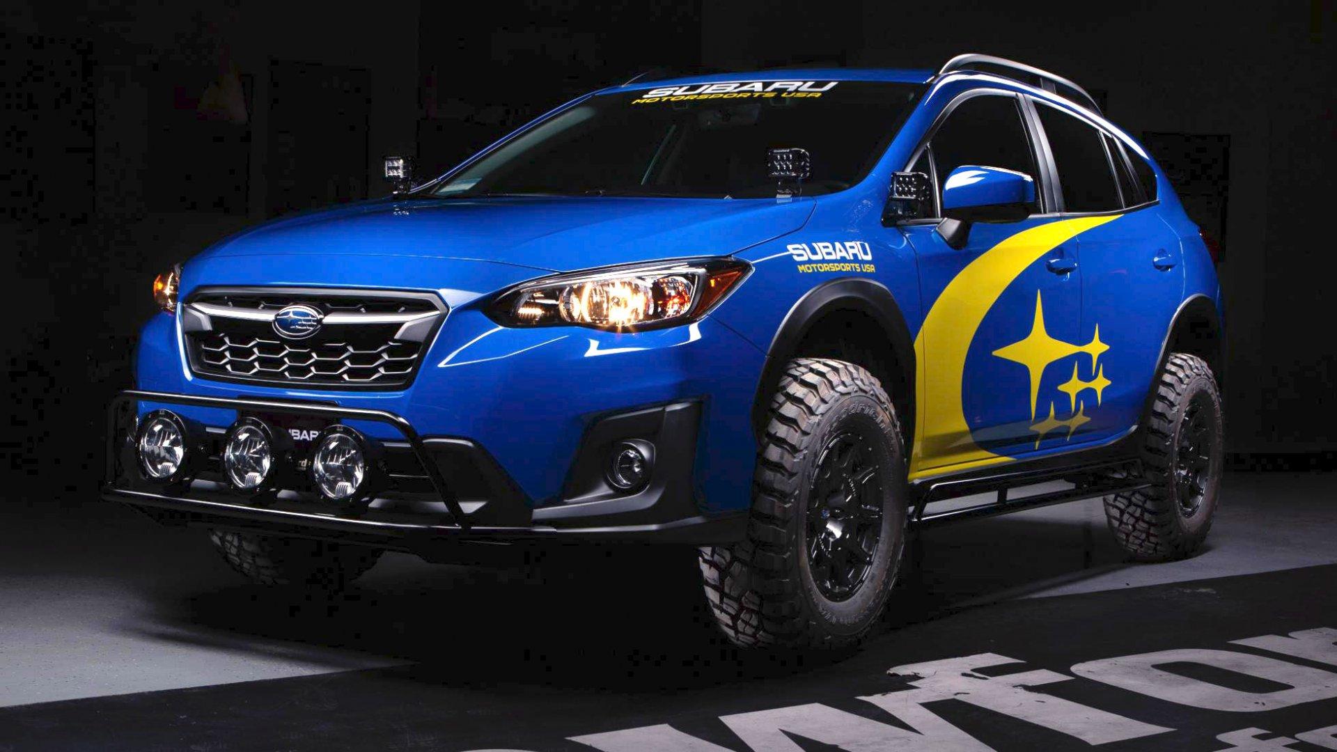 Subaru XV Overland, SUV con piel de todoterreno