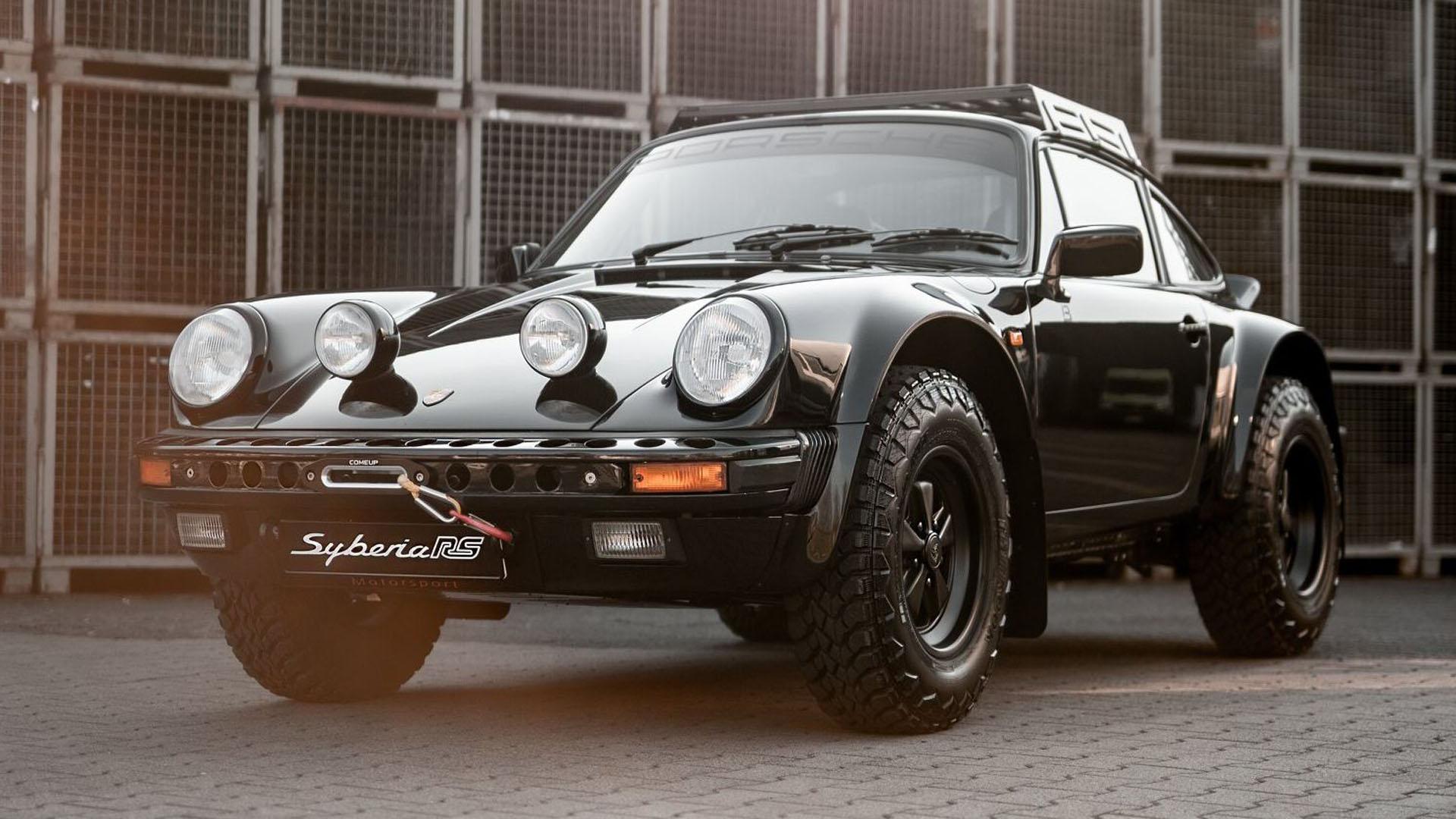 Syberia RS, el Porsche ideal para ir al fin del mundo