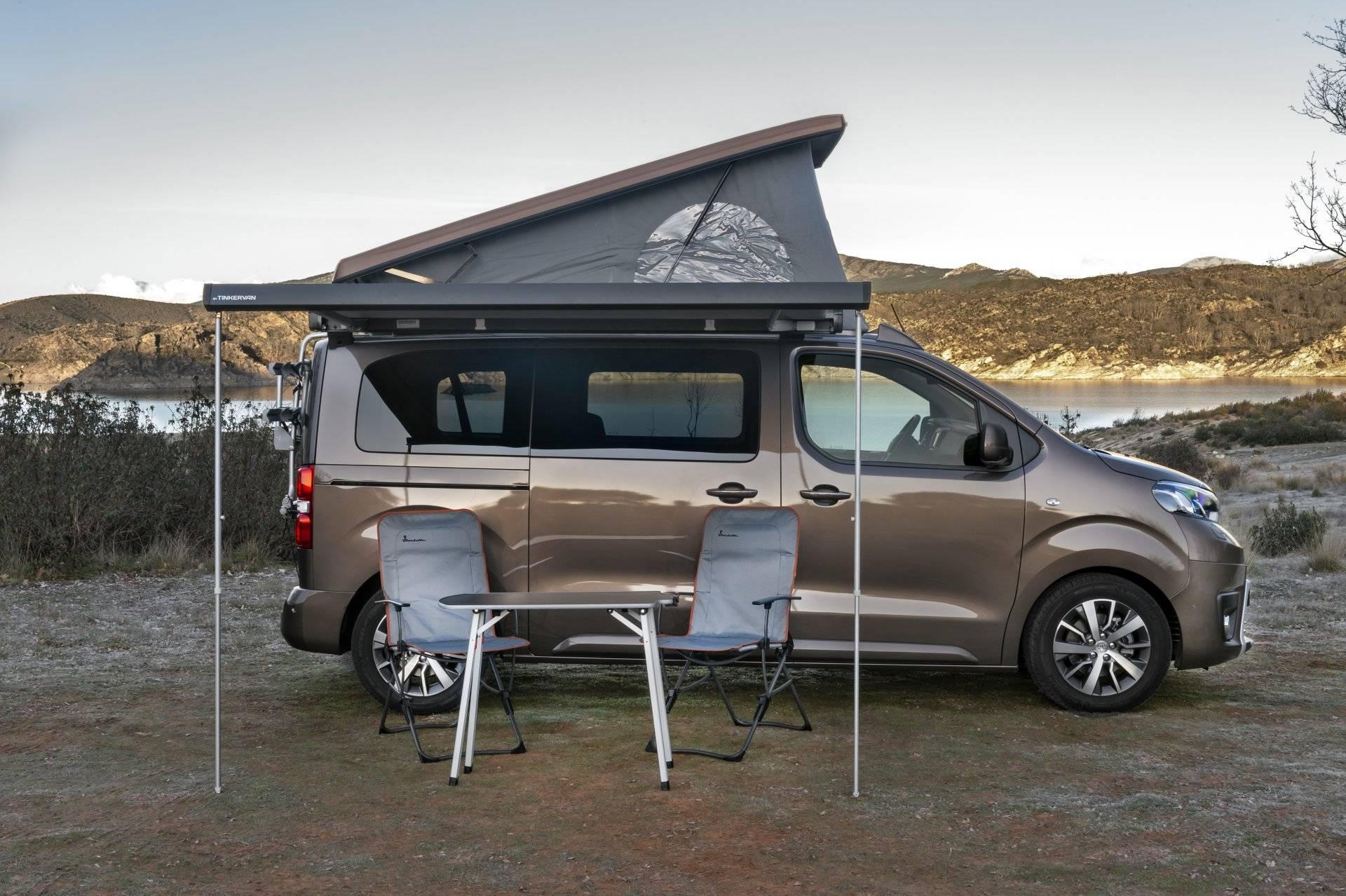 Toyota lanza una nueva versión básica del Proace Verso Camper