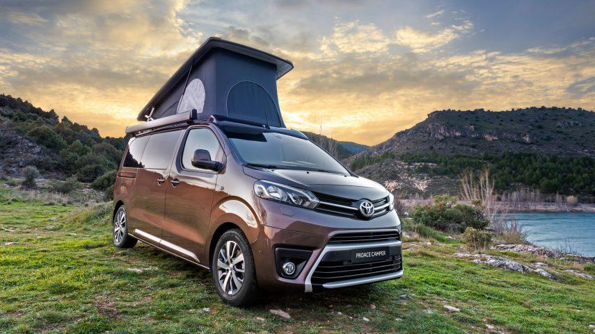 Toyota completa su Proace Verso Camper con el acabado Nomad Plus Home