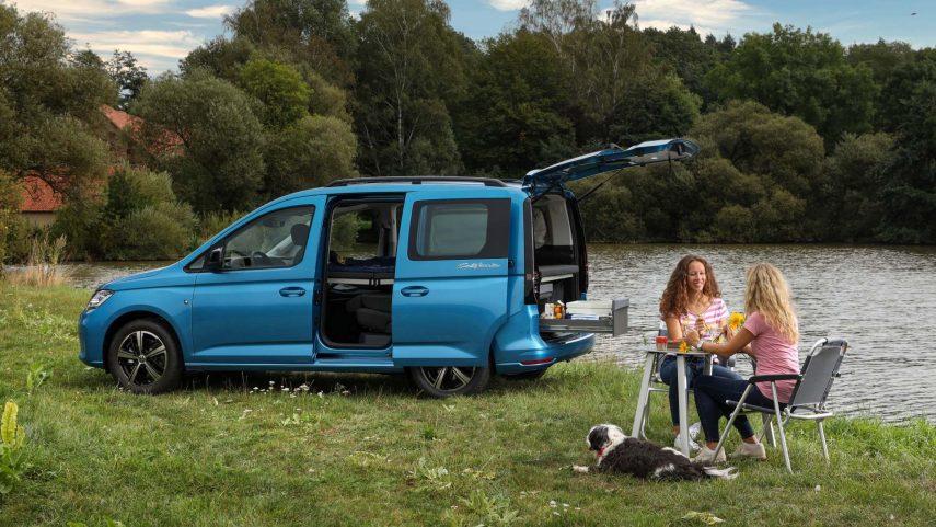 Volkswagen Caddy California, una sorprendente y pequeña camper