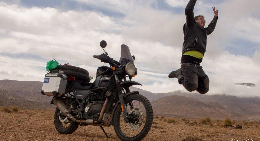 15 dias por Marruecos con Royal Enfield Himalayan 64