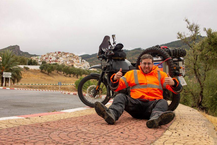 15 dias por Marruecos con Royal Enfield Himalayan 70 jpg
