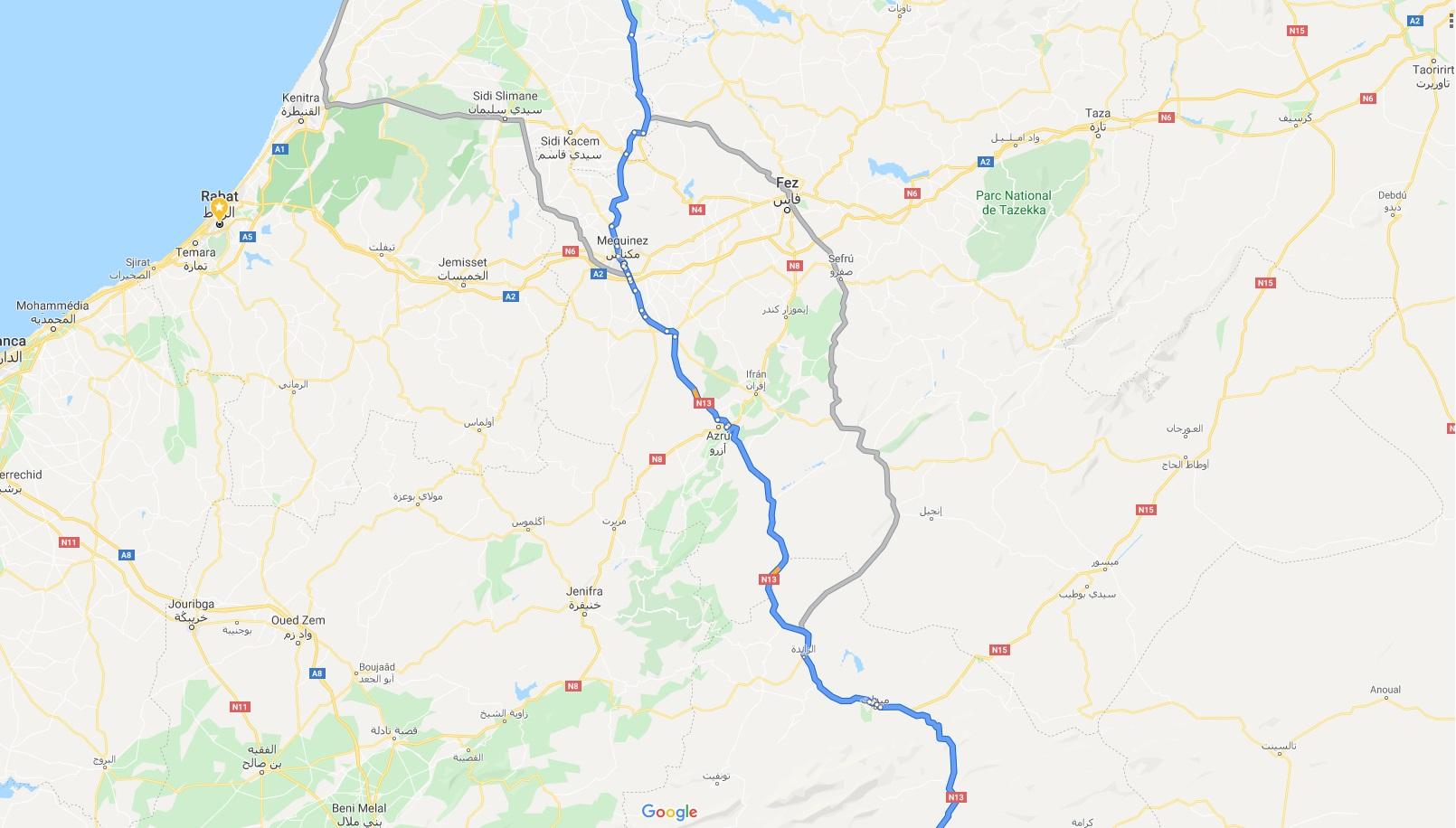 15 dias por Marruecos con Royal Enfield Himalayan 71