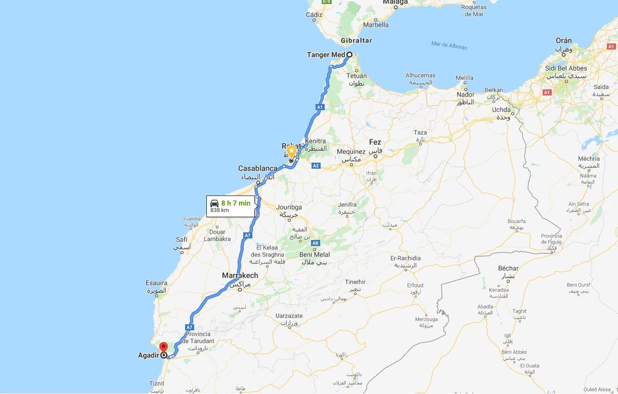 15 dias por Marruecos Royal Enfield Himalayan 14