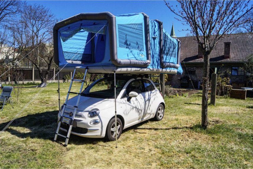 Tiendas de campaña que convierten tu coche en un mini-camper
