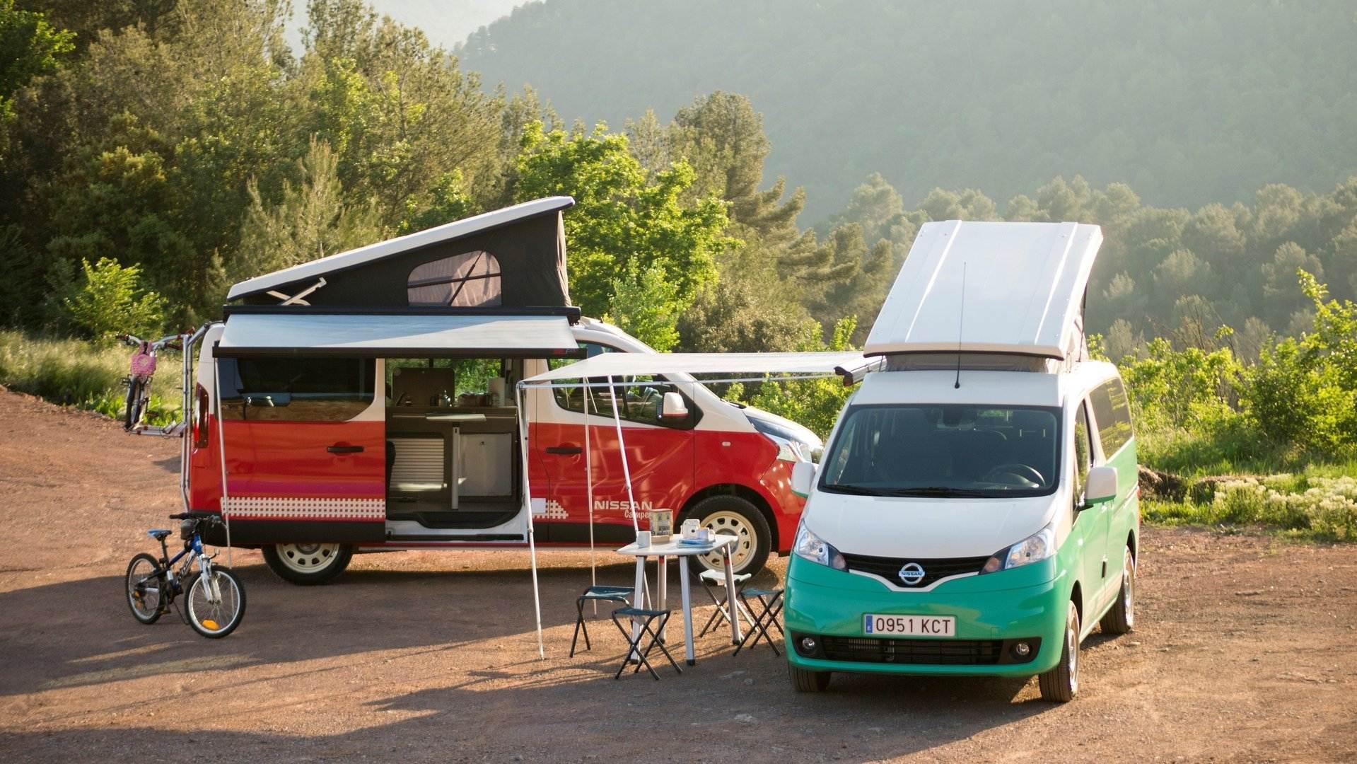Nissan e NV200 Camper