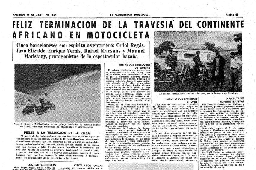 Operacion Montesa La Vanguardia
