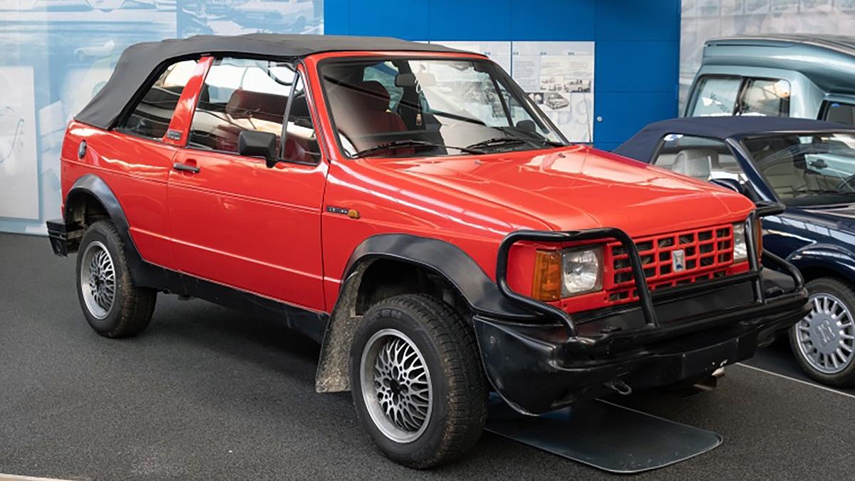 Biagini Passo, el extraño Vokswagen Golf Cabriolet 4×4