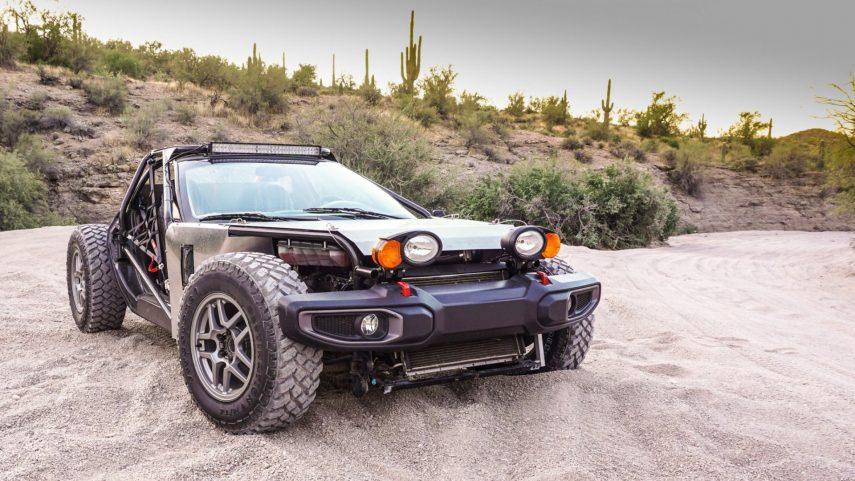 Aunque no lo creas, este buggy tiene alma de Chevrolet Corvette