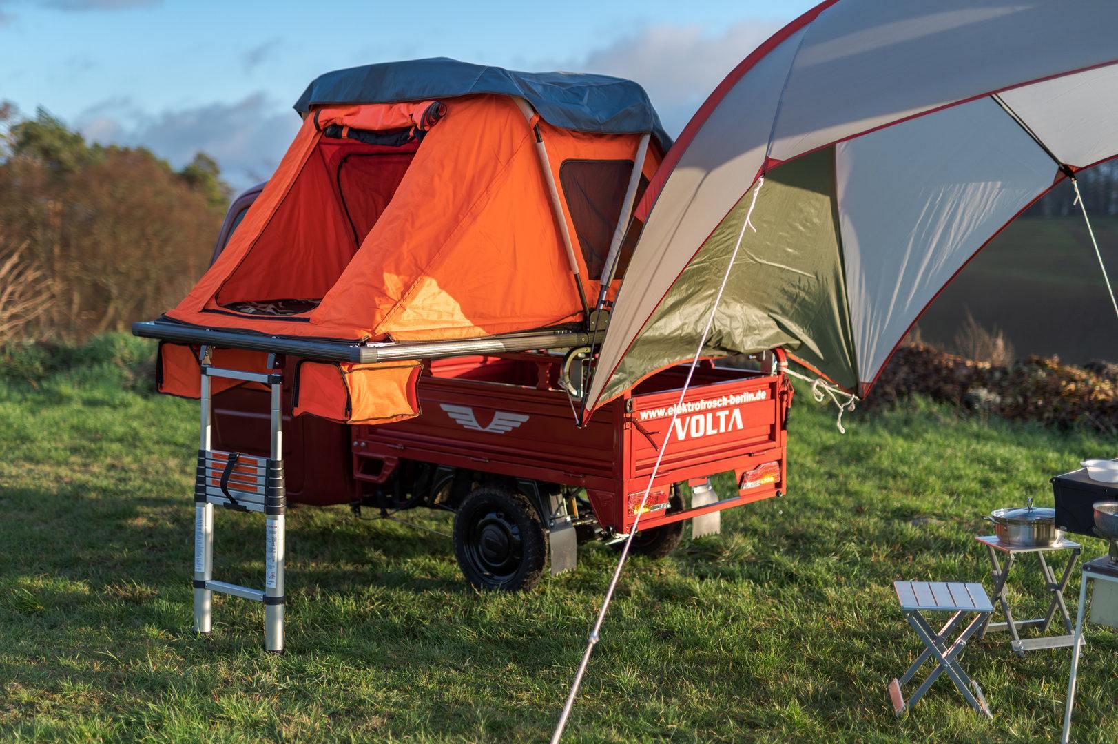 Elektrofrosch PRO Camping 31