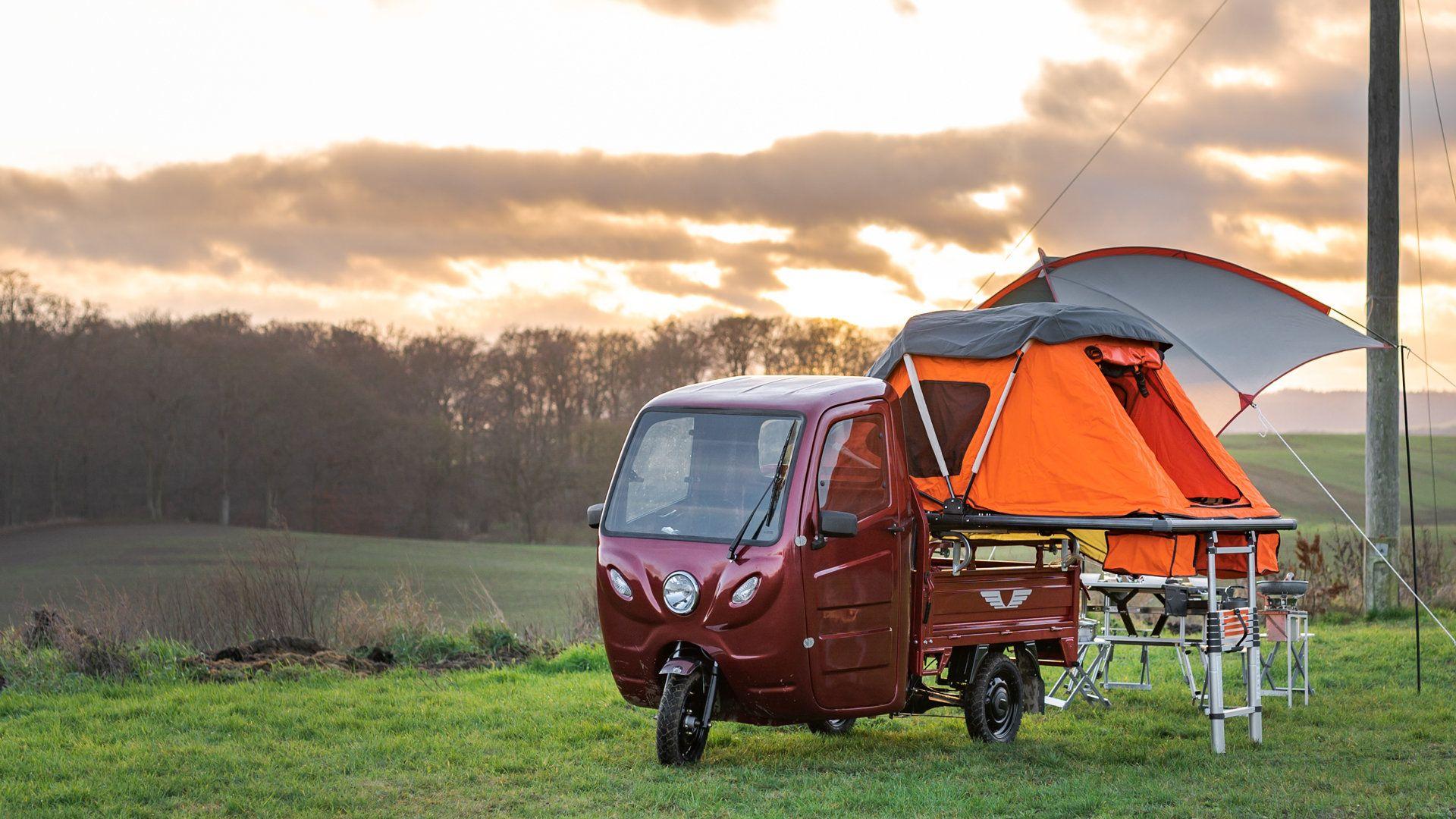 """Elektrofrosch PRO Camping, tu camper """"sin carné"""""""