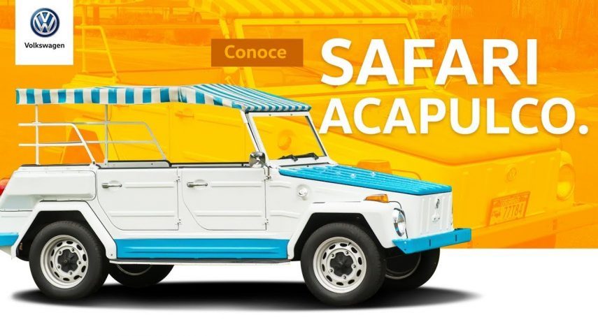 Volkswagen Safari Acapulco, la versión más molona que te podías comprar