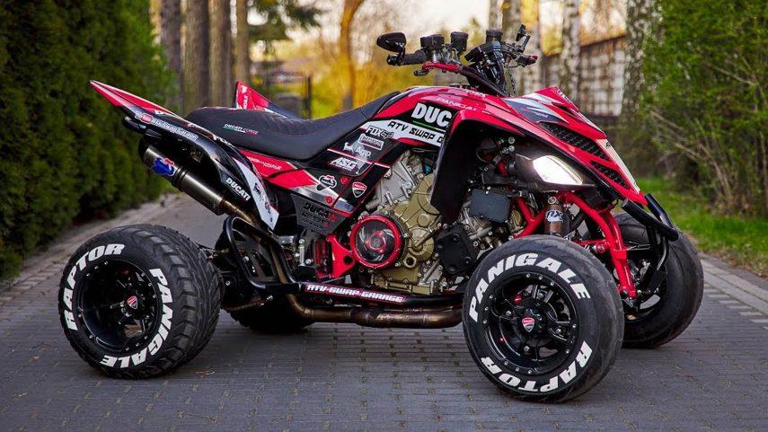 Raptor Panigale 1299, si Ducati fabricase un quad sería como este
