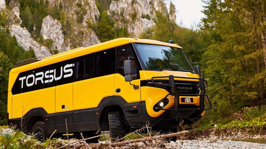Torsus Praetorian: el autobús-todoterreno para ir al fin del mundo
