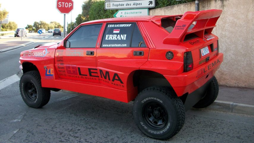 Lancia Delta ERRE20, una preparación… diferente