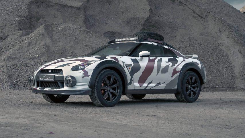 Godzilla 2.0, un Nissan GT-R para salir del asfalto