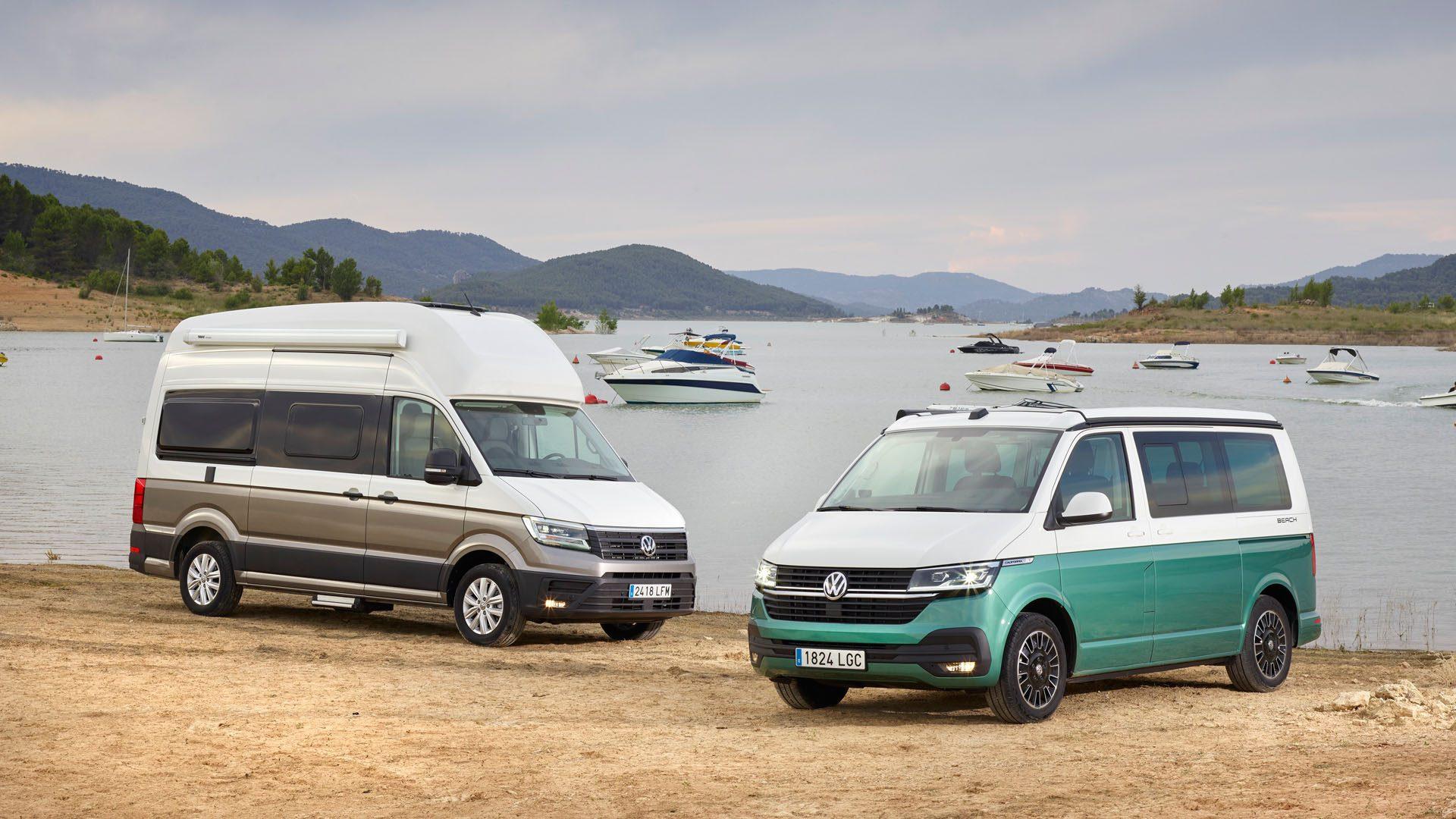 Volkswagen presenta su gama California y Grand California
