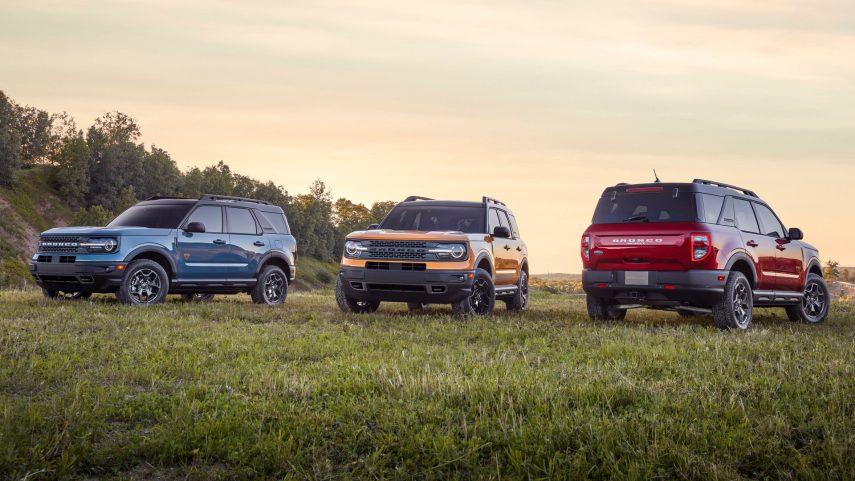 El 2021 Ford Bronco Sport muestra sus habilidades en el Moab