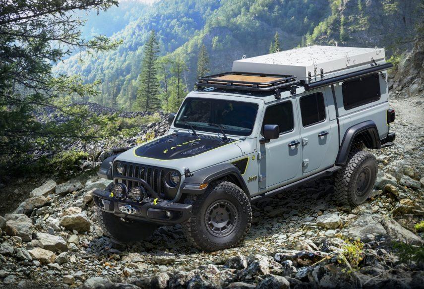 Jeep Gladiator Farout, un concepto ideal para ir de acampada