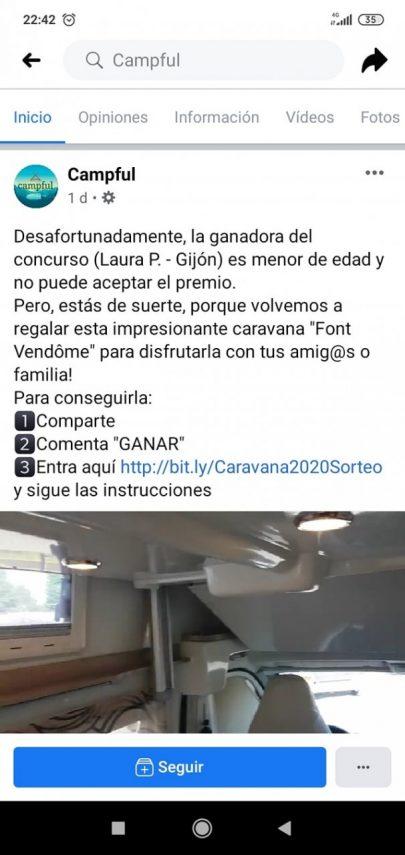 anuncio falso campful