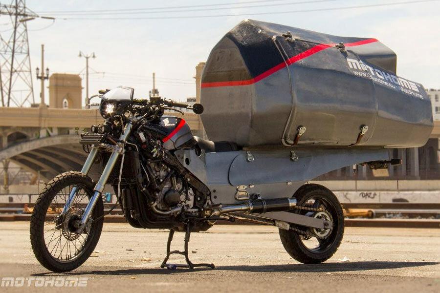 The MotoHome, un proyecto de moto en la que podrías dormir