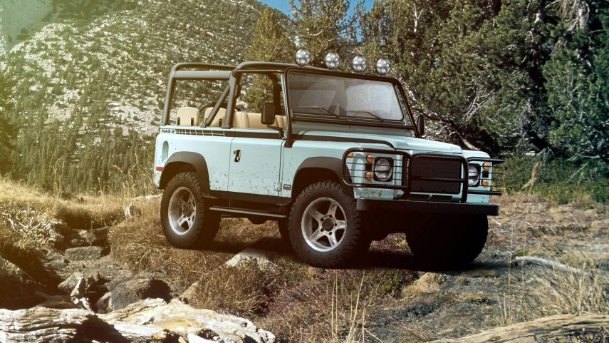 Twisted NAS-E 4×4, un restomod del Defender con sabor californiano