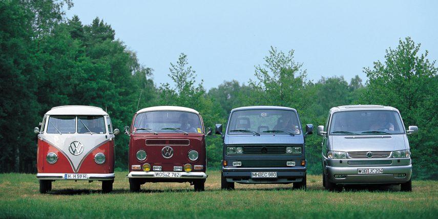 Volkswagen T1 T2 T3 T4 bis