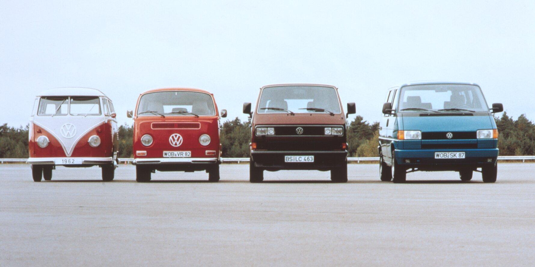 Volkswagen T1 T2 T3 T4