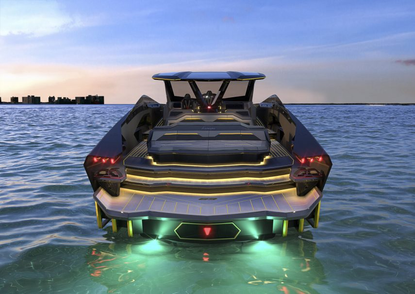 Tecnomar for Lamborghini 63, lujo a nivel del mar