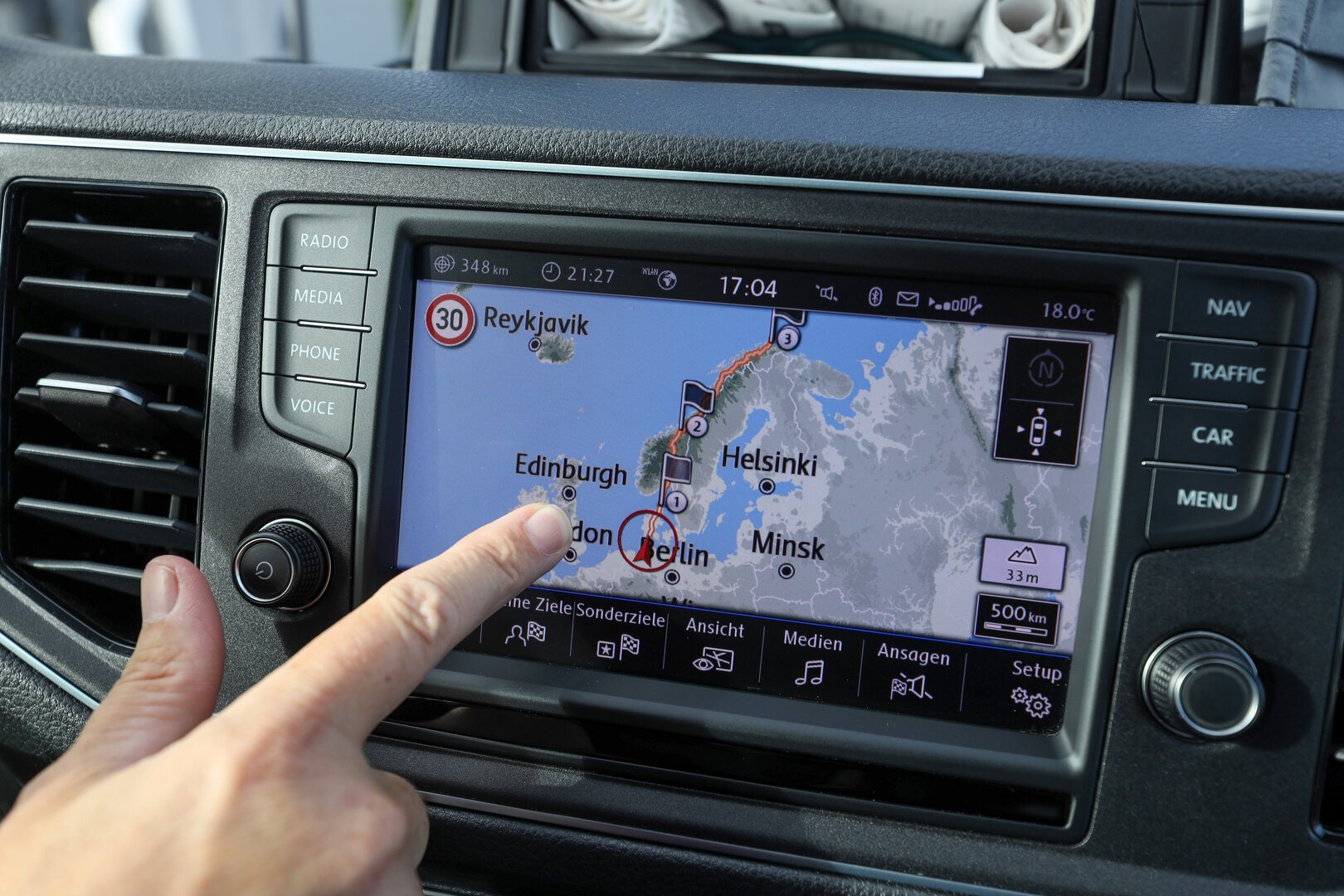Viaje Volkswagen e Crafter Hannover Nordkapp 26