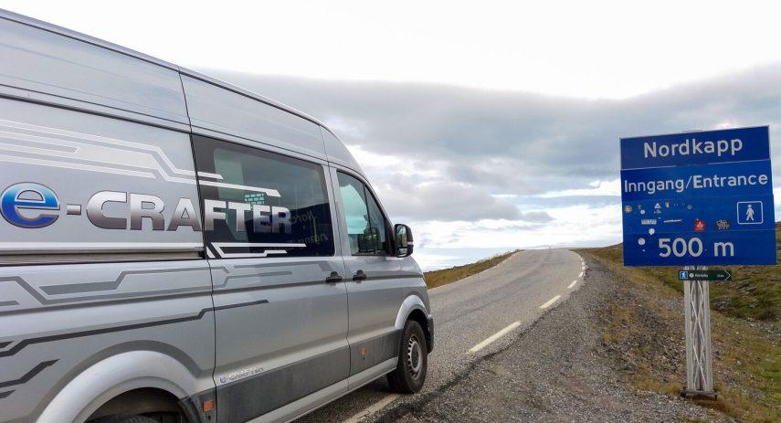 Viaje Volkswagen e Crafter Hannover Nordkapp 30