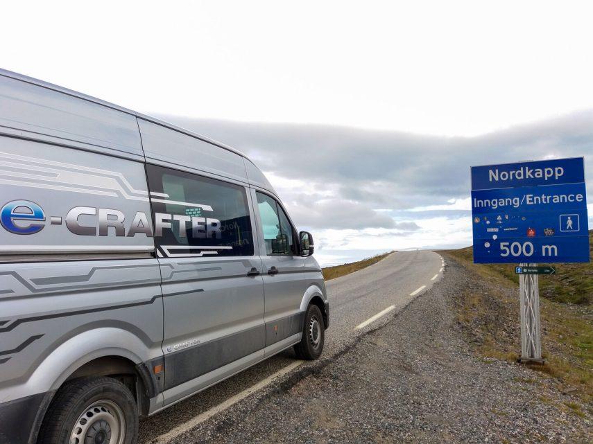 De Hannover al Cabo Norte con una Volkswagen e-Crafter camperizada