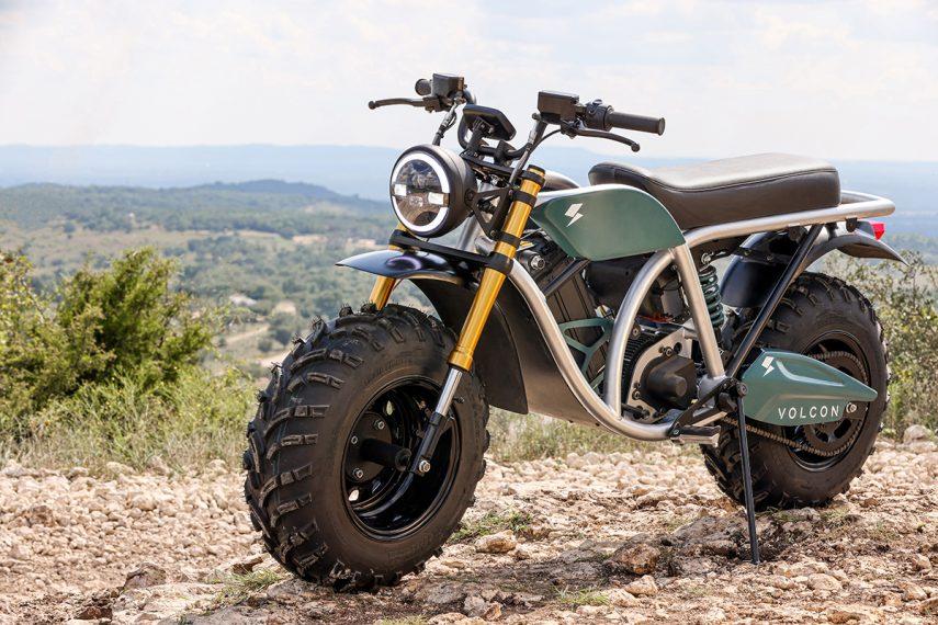 Volcon Grunt, la moto eléctrica que podrás montar incluso bajo el agua
