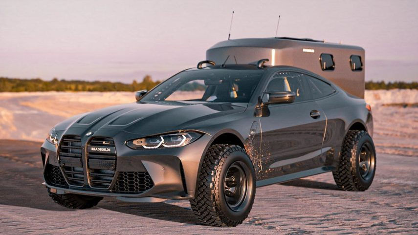 BMW M4 Safari Camper BradBuilds 2
