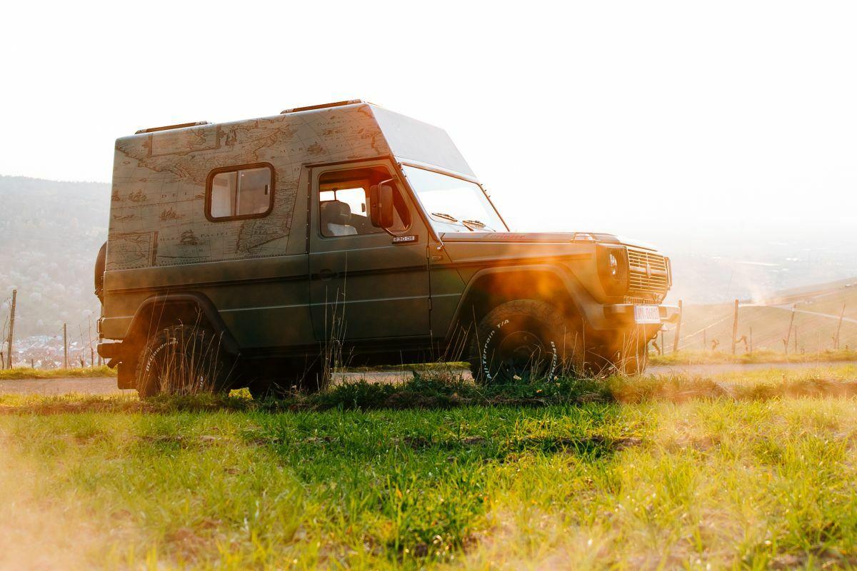 Así convierte Lorinser al Puch G-Wagen en un vehículo camper