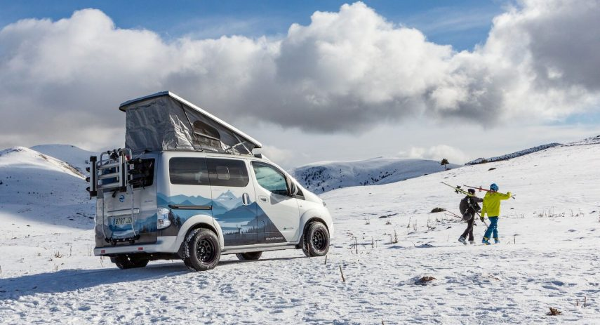 Nissan e NV200 Winter Camper Concept 2021 01