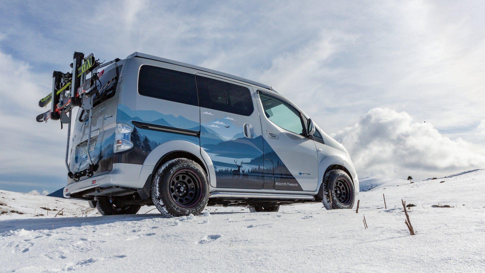 Nissan e NV200 Winter Camper Concept 2021 02