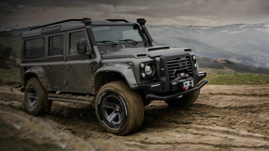 Así deja Ares Design al Land Rover Defender clásico