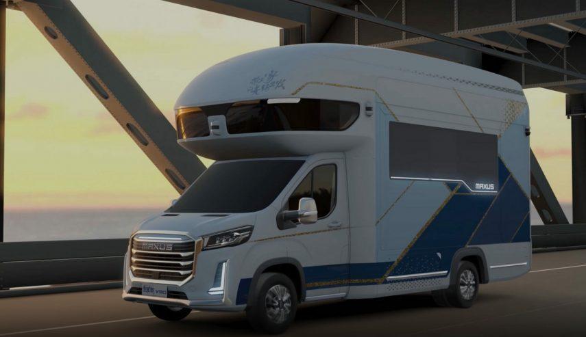 La Maxus Life Home V90 Villa Edition RV es grande, ¡muy grande!