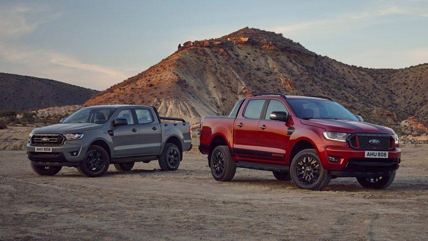 Ford presenta las ediciones limitadas Ranger Stormtrak y Wolftrak